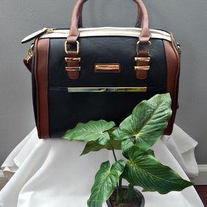 Brown & Black Adrienne Vittadini Handbag
